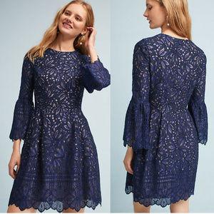 NWT ANTHROPOLOGIE Eliza J  Reverie Lace Dress